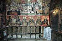 BG81297.JPG BULGARIA, VELIKO TARNOVO, MONASTERY OF TRANSFIGURATION, PREOBRAJENSKI MONASTERY, 1360, 1825, FRESCOES
