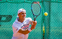 The Hague, Netherlands, 10 June, 2018, Tennis, Play-Offs Competition, Scott Griekspoor (NED)<br /> Photo: Henk Koster/tennisimages.com