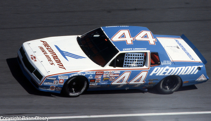 Terry Labonte 44 Daytona 500 at Daytona International Speedway in Daytona Beach, FL on February  1984. (Photo by Brian Cleary/www.bcpix.com)