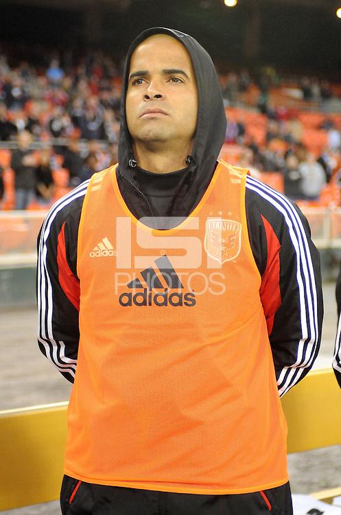 D.C. United forward Santos Maicon (29) D.C. United tied The Montreal Impact 1-1, at RFK Stadium, Wednesday April 18 , 2012.