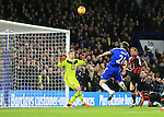 Chelsea's Nemanja Matic heads over from close range<br /> <br /> Barclays Premier League - Chelsea v AFC Bournemouth - Stamford Bridge - England - 5th December 2015 - Picture David Klein/Sportimage