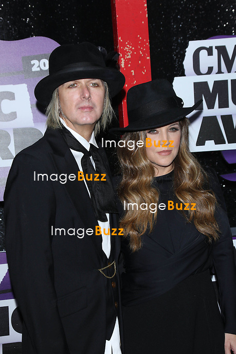 Michael Lockwood & Lisa Marie Presley at the 2013 Country Music Awards in Nashville, Tennessee. June 5, 2013.