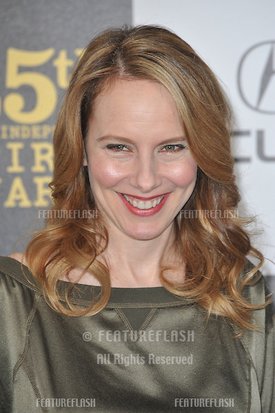 Amy Ryan at the 25th Anniversary Film Independent Spirit Awards at the L.A. Live Event Deck in downtown Los Angeles..March 5, 2010  Los Angeles, CA.Picture: Paul Smith / Featureflash