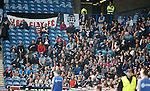 More away fans from Elgin than most SPL teams brought to Ibrox last season