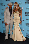 Usher and  Beyonce at the 2007 American Music Awards press room held at the Nokia Theatre Los  Angeles, Ca. November 18, 2007.  Fitzroy Barrett