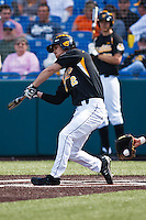 Bret Bascue (2) April 10th, 2010; Southern Illinois vs Wichita State University at Eck Stadium in Wichita, Ks. Photo by: William Purnell/Four Seam Images