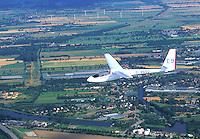 Segelflug, ASW 15, Elbe, Hamburg, Niedersachsen