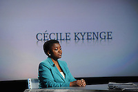 Cecil Kyenge Ministro dell'integrazione.05/05/2013 Roma il ministro ospite della trasmissione 8 e mezzo .Foto Gb Insidefoto