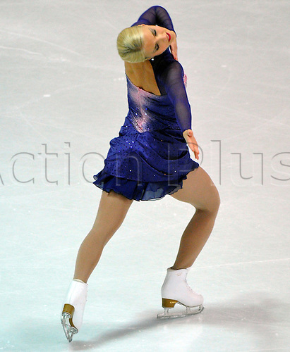 Kiira Korpi from Finland dances her free programme at the Nebelhorn Trophy in Oberstdorf, Germany, 24 September 2010. She won the competition. The Nebelhorn Trophy takes place until 25 September and is the first major competition of the new season.