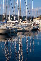 Hafen von Porto Azzurro, Elba, Italien