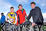 Sean Pierce Dara Walsh and Rory Doyle enjoying the Fenit Coastal Cycle in aid of St. Brendan's NS on Saturday