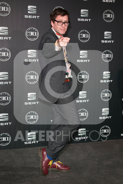 Joaquin Reyes attends the 30th Anniversary Party Of Seat IBIZA Car at COAM in Madrid, Spain. November 6, 2014. (ALTERPHOTOS/Carlos Dafonte)
