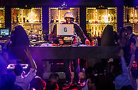 LAS VEGAS, NV - January 6 : Joseph Saddler AKA Grand Master Flash peforms at Body English Nightclub at Hard Rock Hotel & Casino in Las Vegas, Nevada on January 6, 2013. Credit: Kabik/ Starlitepics / MediaPunch Inc. ***HOUSE COVERAGE*** /NortePhoto
