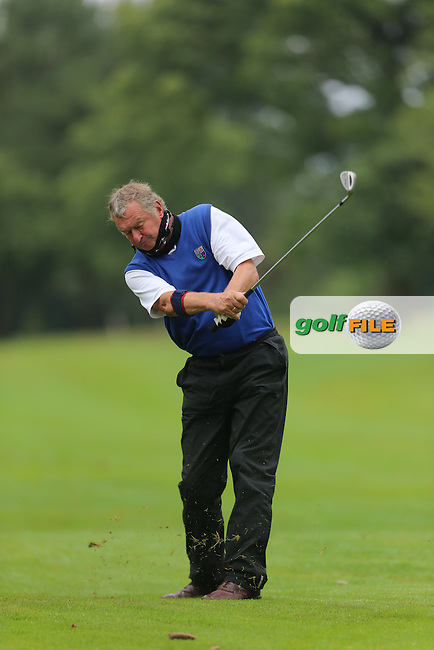 Robin Mitchell (Mahee Island) during the Ulster Mixed Foursomes Final, Shandon Park Golf Club, Belfast. 19/08/2016<br /> <br /> Picture Jenny Matthews / Golffile.ie<br /> <br /> All photo usage must carry mandatory copyright credit (&copy; Golffile | Jenny Matthews)