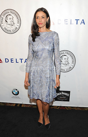 New York, NY- October 7:  Drena De Niro attends the Friars Foundation Gala  at the Waldorf-Astoria on October 7, 2014 in New York City. Credit: John Palmer/MediaPunch