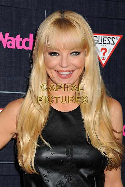 Charlotte Ross.People StyleWatch hosts Hollywood Demin Party in honor of 2nd Annual Denim Issue held at Palihouse, West Hollywood, California USA..20th September 2012.headshot portrait leather top black .CAP/ADM/BP.©Byron Purvis/AdMedia/Capital Pictures.