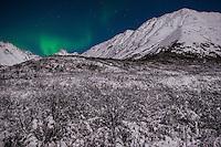 Aurora Borealis, Hatcher's Pass, Alaska.
