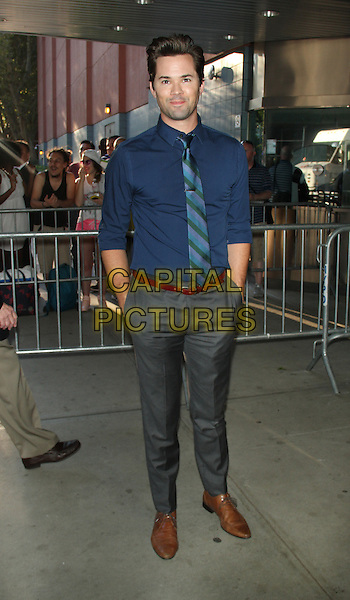 July 13, 2015: Andrew Rannells at the screening of Marvel's &quot;Ant-Man&quot; at the School of Visual Arts in New York. <br /> CAP/MPI/RW<br /> &copy;RW/MPI/Capital Pictures