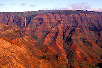 Sunrise at Waimea canyon on the Island of Kauai