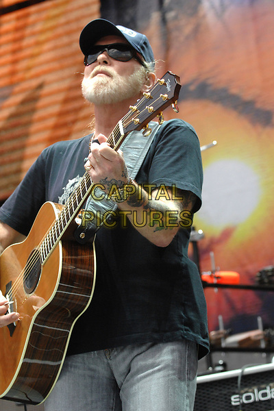Gregg Allman performs at Farm Aid on Randall's Island in New York City on September 9, 2007.<br /> &copy;RTDaniels/MPI/Capital Pictures
