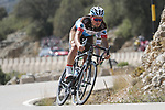 Silvan Dillier (SUI) AG2R La Mondiale descends during Stage 6 of La Vuelta 2019 running 198.9km from Mora de Rubielos to Ares del Maestrat, Spain. 29th August 2019.<br /> Picture: Luis Angel Gomez/Photogomezsport | Cyclefile<br /> <br /> All photos usage must carry mandatory copyright credit (© Cyclefile | Luis Angel Gomez/Photogomezsport)