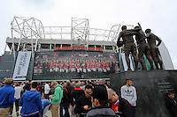 Pictured: The Old Trafford. Saturday 16 August 2014<br />