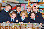 &nbsp;PAINTING: Painting some pictures on their first day at Killury National School, Causeway, on Monday, l-r: Gearóid Quilter, Jason Carmody, Taylor Griffin-O'Mahony, Keith McElligott, Ivana Nealon, Roisín Dillon and Caitlín Guerin.<br />