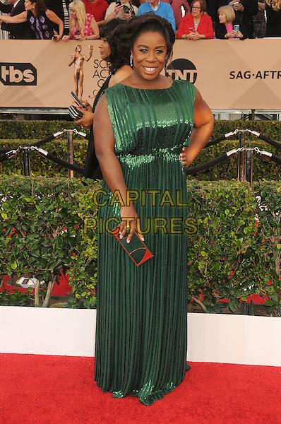 30 January 2016 - Los Angeles, California - Uzo Aduba. 22nd Annual Screen Actors Guild Awards held at The Shrine Auditorium.      <br /> CAP/ADM/BP<br /> &copy;BP/ADM/Capital Pictures