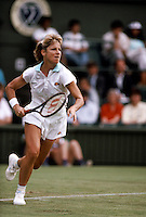Chris Evert (USA)<br /> Wimbledon Centre Court 1988<br />  Chris Evert (USA)<br /> &copy;COPYRIGHT MICHAEL COLE