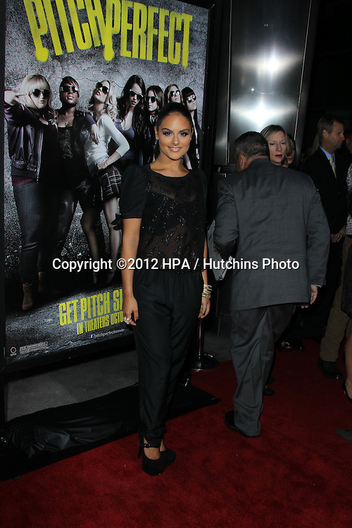 """LOS ANGELES - SEP 24:  Pia Toscano arrives at the """"Pitch Perfect'"""" Premiere at ArcLight Cinemas on September 24, 2012 in Los Angeles, CA"""