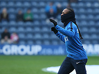 Preston North End's Daniel Johnson during the pre-match warm-up <br /> <br /> Photographer Stephen White/CameraSport<br /> <br /> The EFL Sky Bet Championship - Preston North End v Hull City - Wednesday 26th December 2018 - Deepdale Stadium - Preston<br /> <br /> World Copyright &copy; 2018 CameraSport. All rights reserved. 43 Linden Ave. Countesthorpe. Leicester. England. LE8 5PG - Tel: +44 (0) 116 277 4147 - admin@camerasport.com - www.camerasport.com