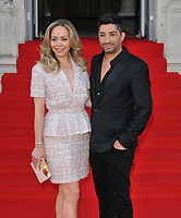 "LONDON, ENGLAND - AUGUST 08: Tamara Ralph and Michael Russo at the ""Pain and Glory"" Film4 Summer Screen opening gala & launch party, Somerset House, The Strand, on Thursday 08 August 2019 in London, England, UK.<br /> CAP/CAN<br /> ©CAN/Capital Pictures"