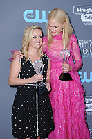11 January 2018 - Santa Monica, California - Reese Witherspoon, Nicole Kidman. 23rd Annual Critics' Choice Awards held at Barker Hangar. <br /> CAP/ADM/BT<br /> &copy;BT/ADM/Capital Pictures