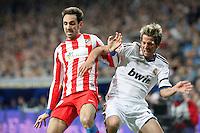 Juanfran Torres and Fabio Coentrao during La Liga Match. December 02, 2012. (ALTERPHOTOS/Caro Marin)