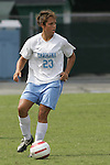24 September 2006: UNC's Casey Nogueira. The University of North Carolina Tarheels defeated the University of Miami Hurricanes 6-1 at Fetzer Field in Chapel Hill, North Carolina in an NCAA Division I women's soccer game.