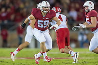 STANFORD, CA - NOVEMBER 15, 2014: Craig Jones during Stanford's game against Utah. The Utes defeated the Cardinal 20-17 in overtime.