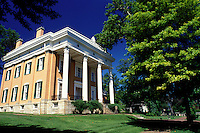 mansion, Madison, IN, Indiana, James F.D. Lanier State Historic Site, a Greek Revival, mansion, Southern Indiana