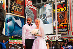NYC Newlyweds Times Square 2012 01 24
