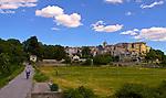 Aubai, South of France, Medieval Village, Landscape