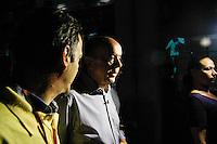 ATENCAO EDITOR FOTO EMBARGADA PARA VEICULO INTERNACIONAL - SAO PAULO, SP, 29 DE SETEMBRO 2012 - ELEICOES 2012 - JOSE SERRA - O candidato a prefeitura de São Paulo, pelo PSDB Jose Serra durante visita ao Museu do Futebol na tarde deste sabado , 29. . FOTO: WILLIAM VOLCOV - BRAZIL PHOTO PRESS