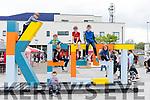 Enjoying K Fest on Saturday<br /> L-R Peter O'Shea, Dara Henken, Dara McKenna, Kieran Patton, P·draig O'Shea & RÛisÌn Henkenwith Ger Daly in front.