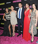 Vanessa Hudgens, Ashley Benson, James Franco,Selena Gomez and Rachel Korine at The L.A. Premiere of Spring Breakers held at The Arclight Theater in Hollywood, California on March 14,2013                                                                   Copyright 2013 Hollywood Press Agency
