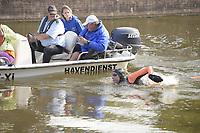 ZWEMMEN: FRYSLÂN: 18-08-2018, Elfstedenzwemtocht, Maarten van der Weijden, Sneek, ©foto Martin de Jong