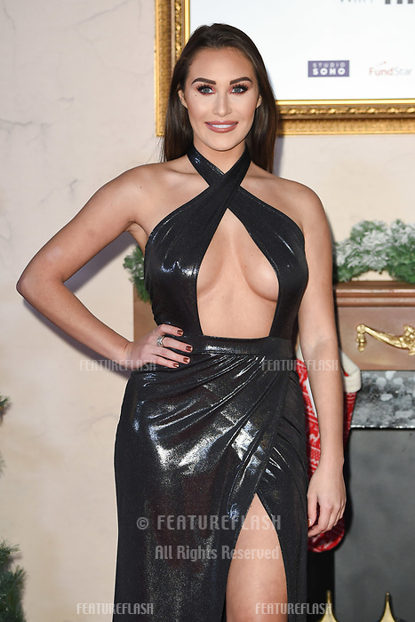LONDON, UK. November 21, 2018: Chloe Goodman at the &quot;Surviving Christmas with the Relatives&quot; premiere at the Vue Leicester Square, London.<br /> Picture: Steve Vas/Featureflash