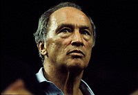 Montreal (QC) CANADA - 1987  File Photo  -  Pierre Trudeau