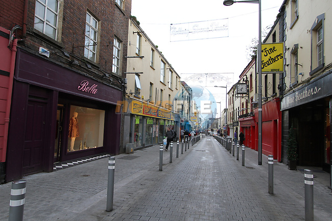 Narrow West Street, Drogheda, Co.Louth..(Photo credit should read Jenny Matthews www.newsfile.ie)....This Picture has been sent you under the conditions enclosed by:.Newsfile Ltd..The Studio,.Millmount Abbey,.Drogheda,.Co Meath..Ireland..Tel: +353(0)41-9871240.Fax: +353(0)41-9871260.GSM: +353(0)86-2500958.email: pictures@newsfile.ie.www.newsfile.ie.