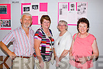 Jer Long, Elizabeth McCarthy, Veronica Doyle and Joan O'Keeffe pictured last Friday at a special school reunion in Colaiste Ide agus Iosef, Abbeyfeale.