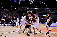 New Zealand Tall Blacks' Shea Ili in action during the FIBA World Cup Basketball Qualifier - NZ Tall Blacks v Jordan at Horncastle Arena, Christchurch, New Zealand on Thursday 29 November  2018. <br /> Photo by Masanori Udagawa. <br /> www.photowellington.photoshelter.com
