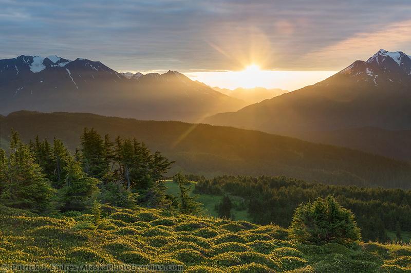 Lost Lake Trail, Chugach National Forest, Seward, Alaska.