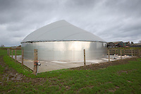 Anaerobic digestion plant on a dairy farm<br /> &copy;Tim Scrivener Photographer 07850 303986<br />      ....Covering Agriculture In The UK....